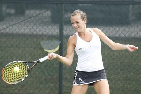 Women's Tennis Earns a Third Straight Win