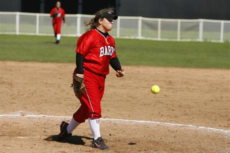 Softball Splits With Bobcats