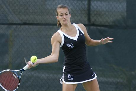 Women's Tennis Falls to Division I Temple