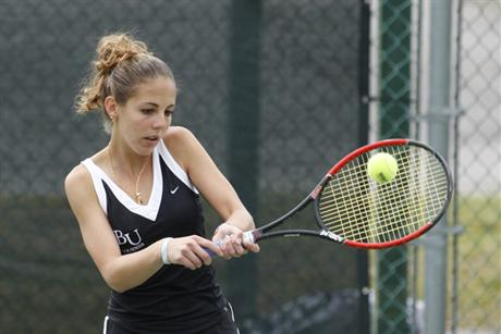 Women's Tennis Blanked by Bulls