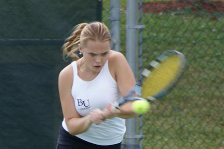 Women's Tennis Wraps up Weekend with a Win