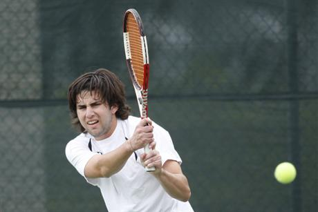 Men's Tennis Blanks Saints