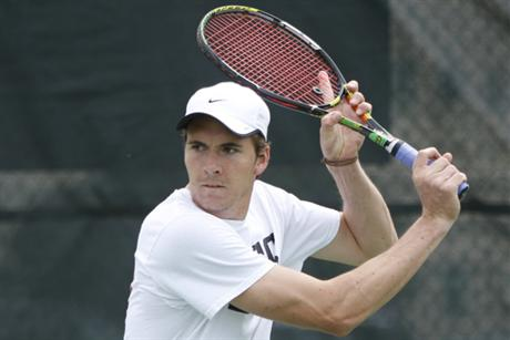 Men's Tennis Steamrolls John's Hopkins