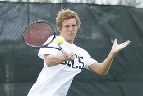 Men's Tennis Topples Hilltoppers
