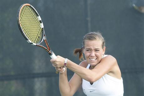 Strong Singles Powers Women's Tennis to Victory