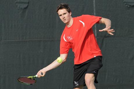 Men's Tennis Drops Heartbreaker to Lynn