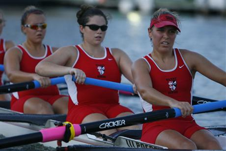 Women's Rowing Wraps up Canal 54 Duals