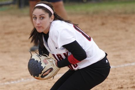 Softball Blanks Lions To Open Conference Series