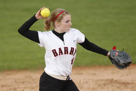 Softball Splits Doubleheader With Lions