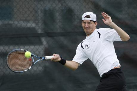 Men's Tennis Wraps Up Regular Season with 19th Win
