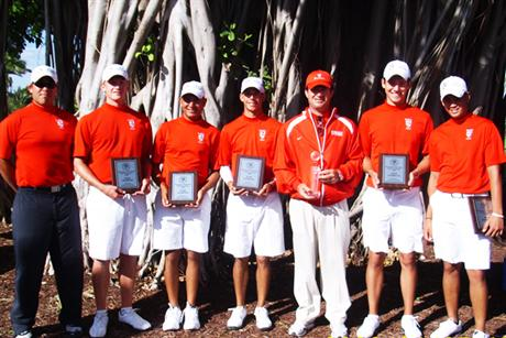 Men's Golf Grabs First At Buccaneer Invitational