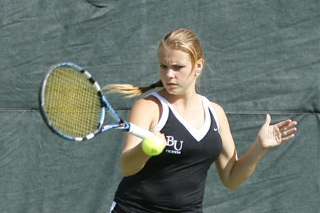 Women's Tennis Finishes Third at SSC Tournament