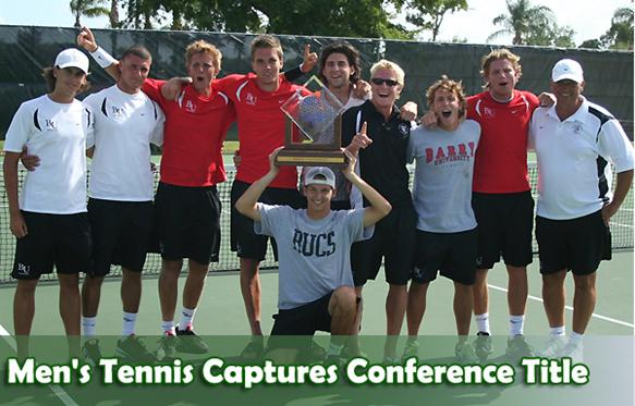 Men's Tennis Wins SSC Championship
