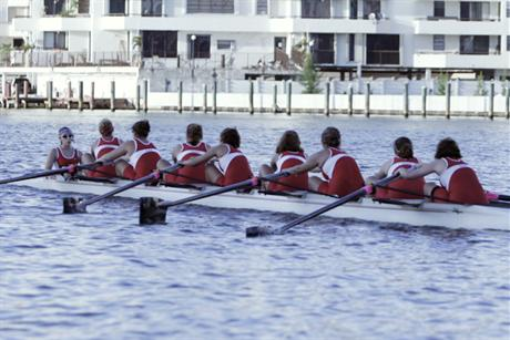 Rowing Finishes Second at SSC Regatta
