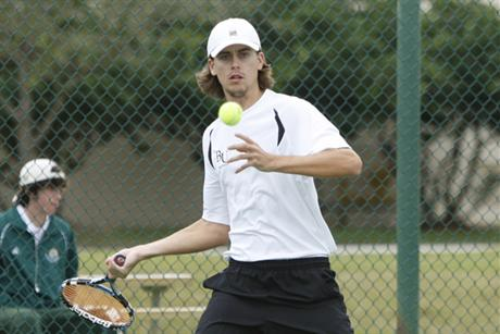 Men's Tennis Knocks-Off Another Ranked Team in National Tournament