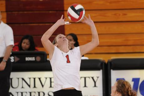 Volleyball Blackens Reddies To Open The Season