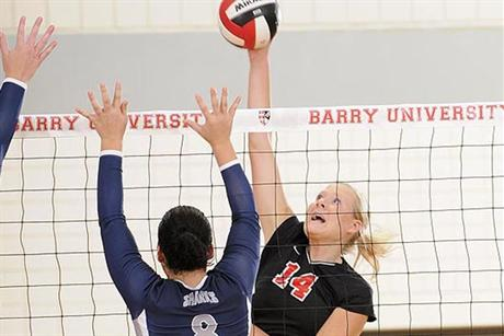 Volleyball Bites Sharks to Open Conference Play