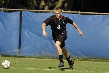 Men's Soccer Blanks The Bobcats