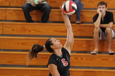 Volleyball Speared by Tritons
