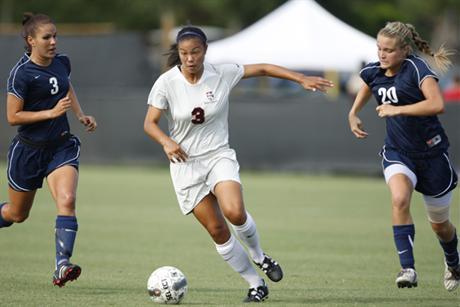 Women's Soccer Skewers Tritons