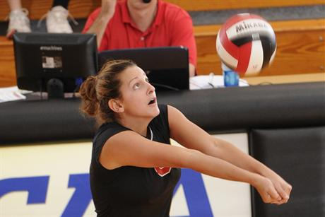 Volleyball Thrashes Panthers