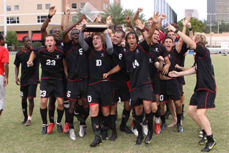 Men's Soccer Crowned SSC Tournament Champions!
