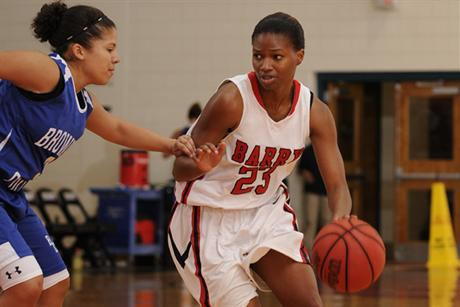 Women's Basketball Out-Jousts Knights