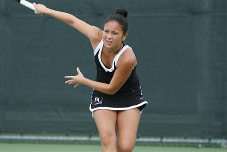 Women's Tennis Sweeps Spartans