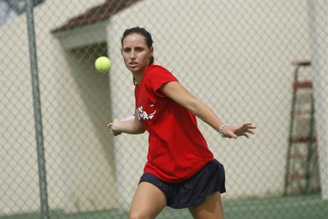 Women's Tennis Moves to 5-0 With Win Over Tritons
