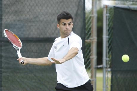 Men's Tennis Continues Winning Ways