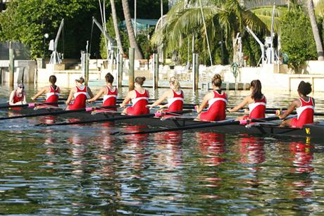 Rowing Starts Season With Strong Showing