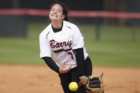 Softball Wins Pitching Duel To Open Conference Play