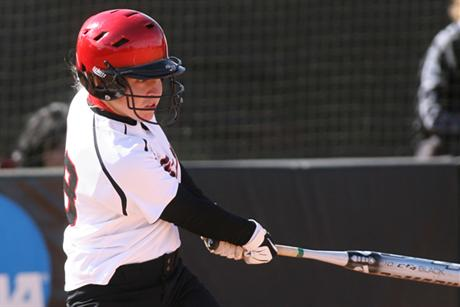 Softball Splits Twinbill with Lions