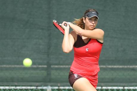 Women's Tennis Bumps Off #2 Knights To Claim SSC Tourney Top Seed