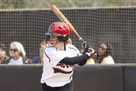 Softball Stifles Sharks  In SSC Series Opener
