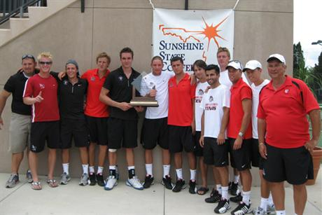 Men's Tennis Wins SSC Crown in Thrilling Fashion