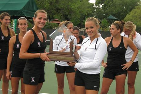 Women's Tennis Captures SSC Title