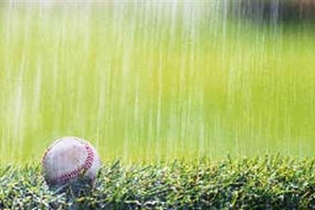 Baseball Called Due To Rain