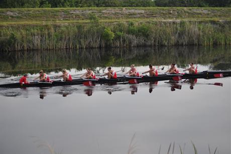 Rowing Takes Second at Dad Vails