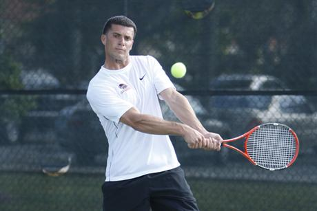 Men's Tennis Deals with Panthers and Awaits Armstrong