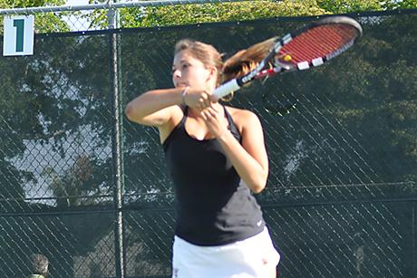 Women's Tennis Can't Keep up with Pirates