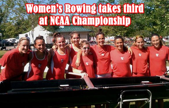 Rowing Captures Third at NCAA Championship