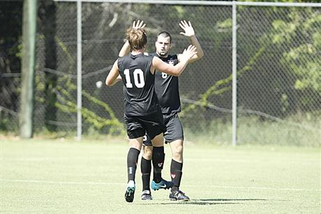 Men's Soccer Ties FAU in Exhibition