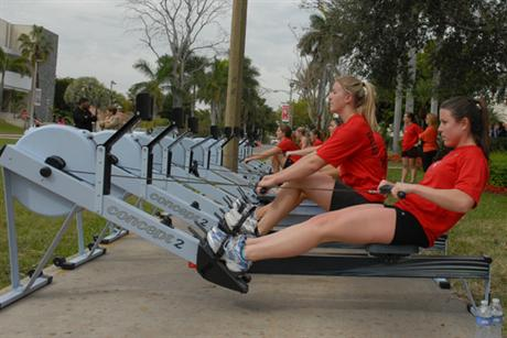 Rowing Fundraiser Provides Home for Haitian Family