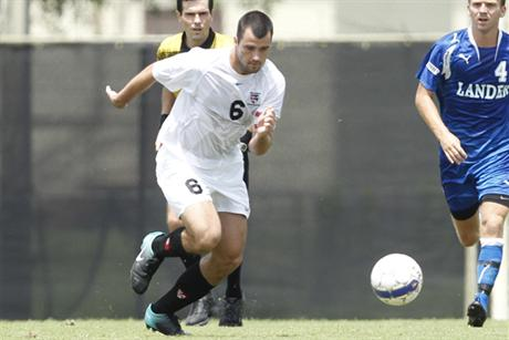 Men's Soccer Starts Conference Play on the Right Foot
