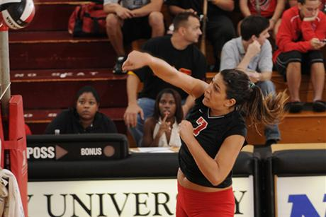 Volleyball Writes Off Penmen