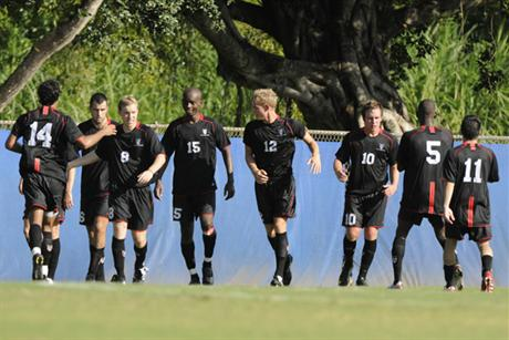 Men's Soccer Draws Tars