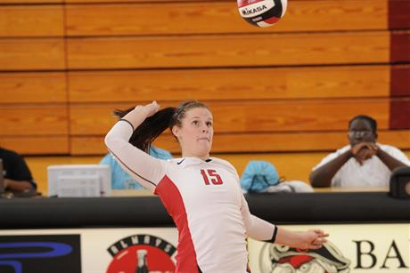 Volleyball Drowns Tritons In Four Sets