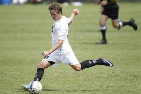 Men's Soccer Downs Lions