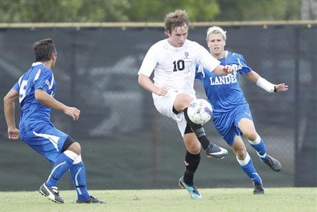 Men's Soccer Breaks Tritons